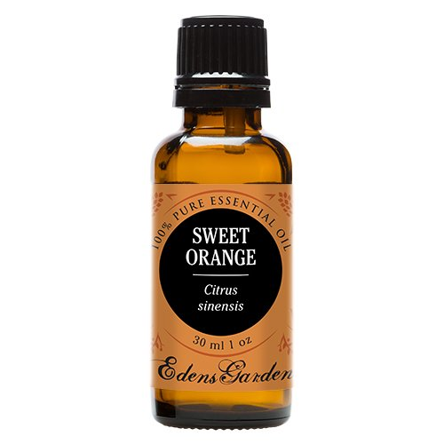 Sweet Orange 100% Pure Therapeutic Grade Essential Oil by Edens Garden- 30 ml