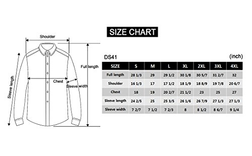 Mens patch point slim dress shirts ds41 frenzystyle for Van heusen studio shirts big and tall
