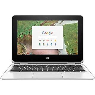 "HP 11-ae091wm Chromebook x360 11"" Touchscreen 2in1 Laptop N3350 4GB RAM 32GB eMMC Chrome OS (Renewed)"