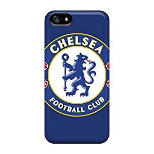 HlH616nncG Tpu Phone Case With Fashionable Look For Iphone 5/5s - Chelsea Fc