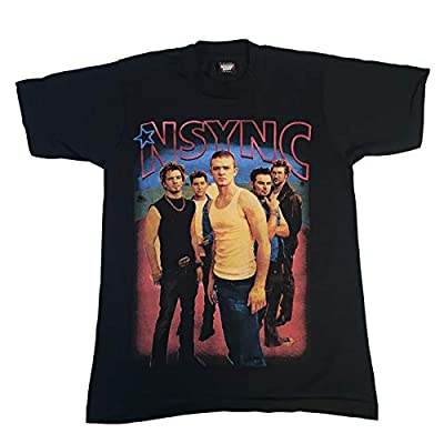 Vintage NSYNC Celebrity T-Shirt Backstreet Boys Pop Y2K Justin Timberlake 2002