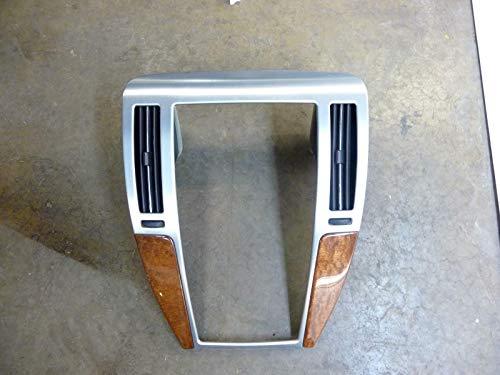 Morad Parts 2008 Cadillac STS Wood Grain Dash Bezel Trim Panel Silver Trim Vents Cover 23159 ()