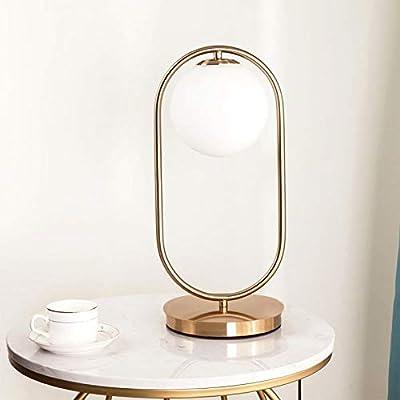Sdjghf Lámpara De Mesa Art Deco Lámpara De Mesa Dorada Zócalo De ...