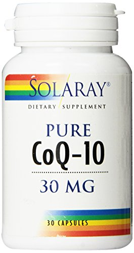 Solaray Co10 Capsules, 30 mg, 30 Count