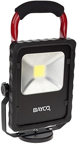 BAYCO NIGHTSTICK 230 LUMENS YELLOW LED CORDLESS WORK LIGHT AND SPOT LIGHT