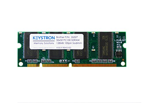 128MB 100pin PC100 SDRAM DIMM Printer Memory for Brother HL-5000, HL-5040, HL-5050, HL-5050LT, HL-5070N, HL-5070DN, HL-5100, HL-5140, HL-5140, HL-5150D, HL-5150DLT (128 128mb Dimm Memory)