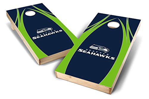 PROLINE NFL Seattle Seahawks 2'x4' Cornhole Board Set - Edge Design ()