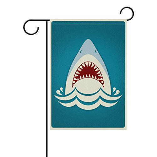 Hopes's Shark Jaws Garden Flag 12