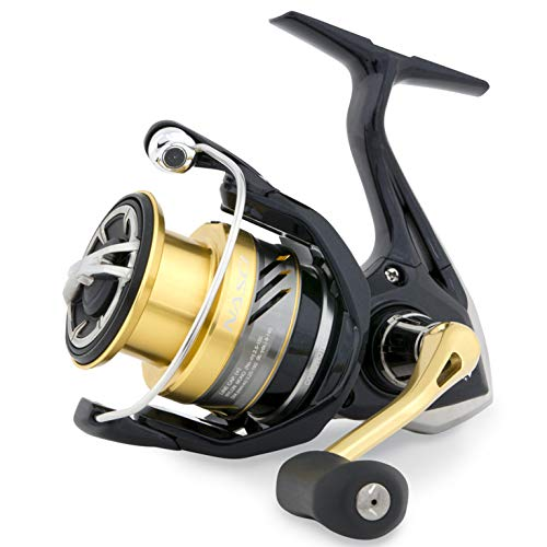Shimano Nasci C 3000 HG FB compact spinning reel with front drag, model 2017, ()