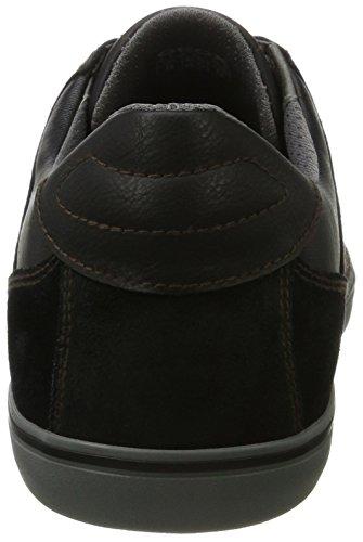 D Noir Geox U Homme Sneakers Box black Basses zqaUHn
