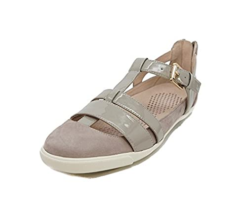 Sudini Women's Iona Fashion Sneaker, Grey, 9.5 M US - Iona Flat Shoe