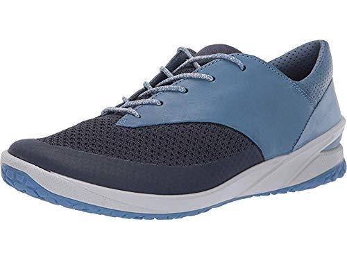 ECCO Women's Biom Life Tie Sneaker, Marine/Retro Blue, 39 M EU (8-8.5 US)