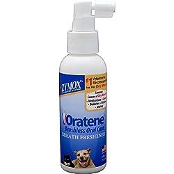 Zymox Pet Breath Freshener Oratene Veterinarian 4 oz