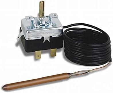 Campini, Kit TY95 0-120ºC termostato capilar regulación para instalar en caja; sonda 1 metro.