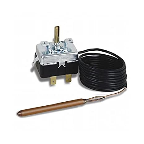 Campini Kit TY95 Thermostat capillaire réglable à installer dans une boîte Sonde 3m, 230.00 voltsV