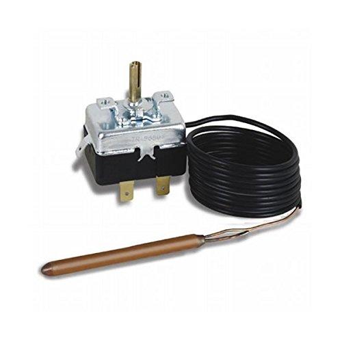 Campini, Kit TY95 0-200ºC termostato capilar regulación para instalar en caja; sonda 1 metro, freidoras.