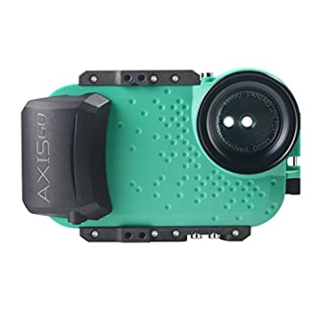 Image of AquaTech AxisGO iPhone 11 Pro/iPhone Xs/iPhone X Waterproof Phone Housing for Underwater Action Photography Snorkeling Surfing Travel Case - Seafoam Green Basic Cases
