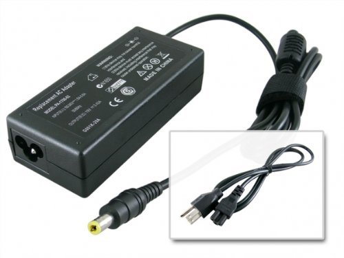 NEW AC Power Charger for Toshiba Satellite a135-s4517 C655-S5206 L515-S4962 L745-S4210 P755-S5387 PA3468e-1Ac3 Notebook +US Cord