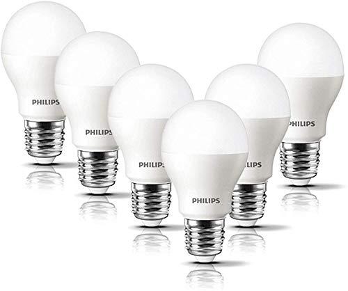 Philips Bombilla LED esférica casquillo E27, 8 W, equivalente a 60 ...