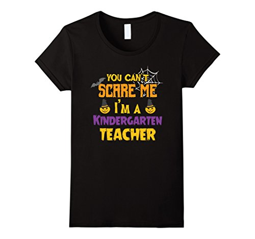 Womens You Can't Scare Me I'm a Teacher Halloween School Costume Medium (Halloween Costumes Appropriate For Teacher)