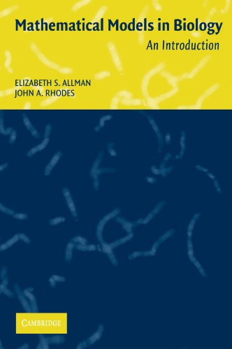Mathematical Models in biology - An Introduction