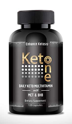 Keto Multivitamin & Mineral with MCT & BHB - Vitamin Supplem