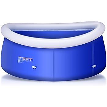 Intex mini frame pool blue toys games - Intex swim center family lounge pool blue ...
