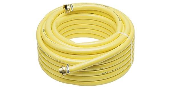 PVC Manguera de Agua Profi Arroflex 3/4 Pulgadas (19mm) 25 Meter + 2x 3/4 Pulgadas Acoplamientos: Amazon.es: Bricolaje y herramientas