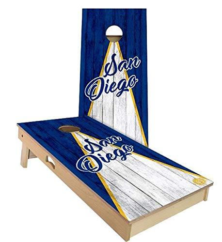 手数料安い Skip's Garage サンディエゴ 2x3 トライアングル 野球 コーンホールボードセット Skip's - サイズとアクセサリーをお選びください - (All ボード2枚、バッグ8枚など B07N46BQ42 B. 2x3 Boards (All Weather Bags)|E.付属品 (1) ケース + (2) ライト B. 2x3 Boards (All Weather Bags), ゲイホクチョウ:0eb9a60c --- staging.aidandore.com