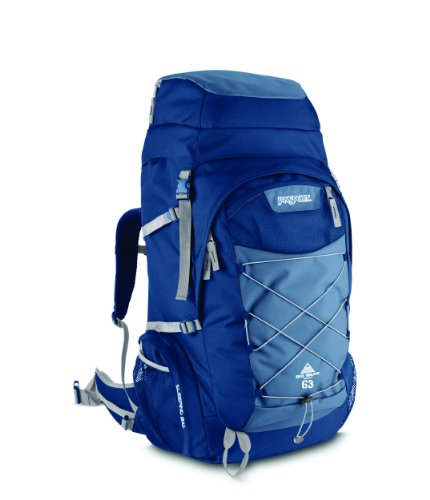Jansport Big Bear Outdoor Backpack (Blue Ridge, 63-Litre), Outdoor Stuffs