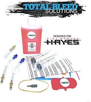 Kit de purga de frenos hidráulicos TBS Hayes Radar + aceite ...