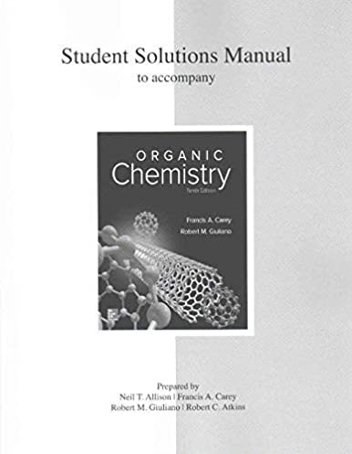 amazon com solutions manual for organic chemistry 9781259636387 rh amazon com Quality Control Student Solutions Manual Cheng Static
