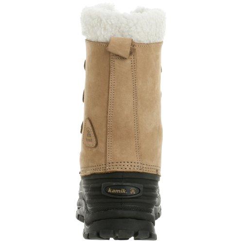 Kamik Frontrange WK0268 - Botas de nieve para hombre Marrón (Beige/Tan)