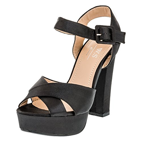 W A M364sw Schwarz Donna Alto Collo S Shoes TTwqZ68