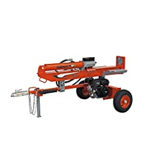 YARDMAX YU2566 25 Ton Full Beam Gas Log Splitter, 4-way wedge, Briggs & Stratton, CR950, 6.5HP, 208cc
