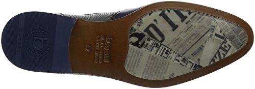bugatti Dark Blue Grey Stringate Blu Uomo Derby 4115 Scarpe 311419021111 rFRHar