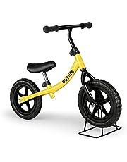 Outlife Bicicleta Infantil sin Pedales con Sillín Regulable, Bicicleta de Equilibrio, Balance Bicicleta Bebe, Ultraligero Manillar y Asiento Ajustables, para Niños de 2-6 Años