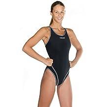Head Liquid Last Wire Solid Swimsuit