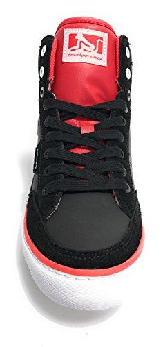 DrunknMunky - Zapatillas para mujer multicolor Black/ Rose