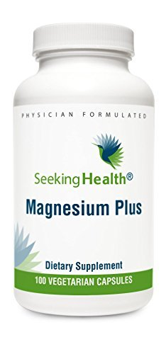 Magnesium Plus | Vitamin B6 Plus Magnesium Supplement | 100 Vegetarian Capsules | Seeking Health |