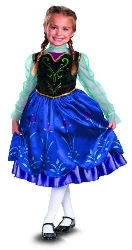 Amazon.com: Disguise Disney Frozen Anna Deluxe del disfraz ...