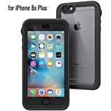 Catalyst Premium Quality Waterproof Shockproof Case for Apple iPhone 6s Plus (Black & Space Gray) with High Touch Sensitivity ID