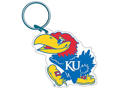 - Wincraft NCAA 21111052 University of Kansas Premium Acrylic Key Ring