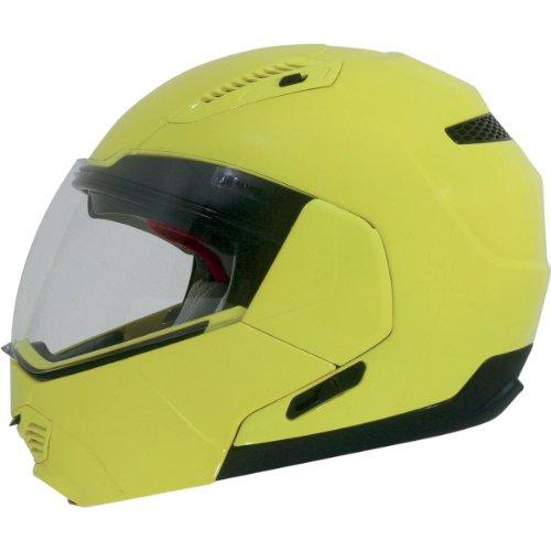AFX FX-140 Hi-Vis Modular Helmet - X-Large/Hi-Visibility Yellow