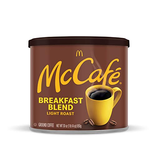 McCafé Breakfast Blend Light Roast Ground Coffee (30 oz Canister)