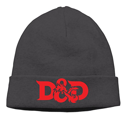 Dragons negro Cap invierno nbsp;suave gorro de divertido Negro Dungeons D20 amp; Beanies UwnqxR5Z4f
