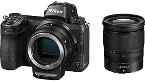 Nikon Z 6 + Nikkor Z 24-70mm f/4 + FTZ Adapter, Black