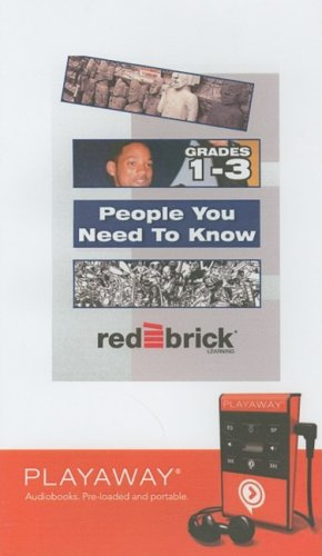 Download People You Need to Know, Grades 1-3 pdf epub