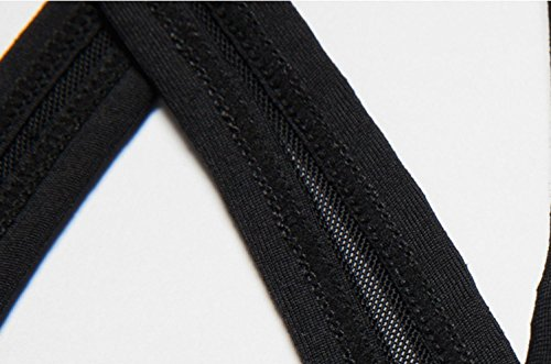 Mujer Bra / Choque / Deportes / Correr / Belleza Volver / Aptitud Ropa Interior , light powder , l BLACK-XL