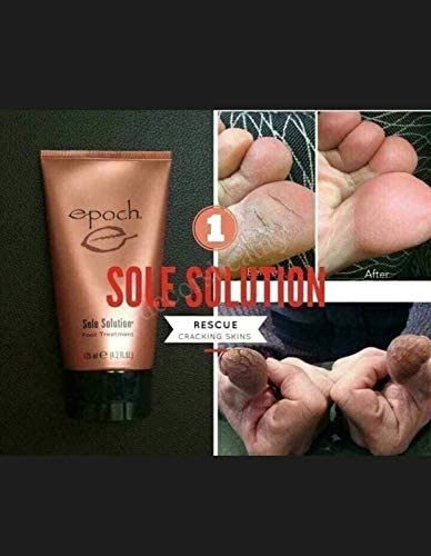 Nu Skin Sole Solution Foot Treatment 4.2 oz Pack of 2